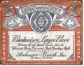 ブリキ看板 Budweiser #58285