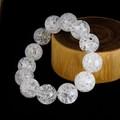 【30%OFF】【天然石ブレスレット】クラック水晶(16mm)ブレス【天然石 クラック水晶】