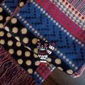 【2色展開】 水玉ジャカード ショール 《ファッションアイテム》