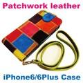 人気のパッチワークレザーシリーズに新作♪【パッチワークレザーiPhone6/Plusケース】