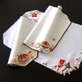 【迎春】お正月刺繍レース ランチョンマット