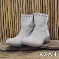 KOAH(コア) スタッズスエードショートブーツ