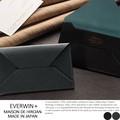 【日本製】【レザー】<動画あり>MAISON de HIROAN ボレロコンビシリーズ 革小物工房 封筒型名刺入