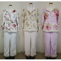 【特価】マイクロファイバールームウェア/パジャマ<ローズ 薔薇 ファッション>