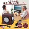 【売価・卸価変更】木目柄手元スピーカー