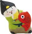 龍虎堂(リュウコドウ)ちぎり和紙 見守る七福神恵比寿様 [日本製]