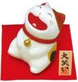 龍虎堂(リュウコドウ)大笑い猫(三毛猫) [日本製]