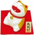 龍虎堂(リュウコドウ)大笑い猫(トラ猫) [日本製]