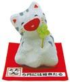 龍虎堂(リュウコドウ)大笑いちび猫(グレー猫) [日本製]