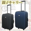 旅行に便利なしっかりとしたキャリーバッグ♪*゚大・小サイズ
