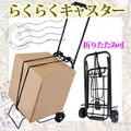 ちょっと荷物を運びたい時や、お買い物時に便利なキャスターフレーム☆。+