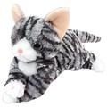 【いっしょがいいね】猫 ビーンズ グレー猫