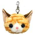【いっしょがいいね】猫 リール付パスケース トラ猫