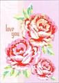 MADISON PARK GREETINGS バレンタイングリーティングカード <バラ>