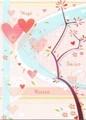 MADISON PARK GREETINGS バレンタイングリーティングカード <ハート>
