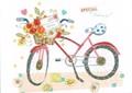MADISON PARK GREETINGS バレンタイングリーティングカード <自転車>