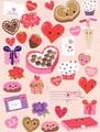 MADISON PARK GREETINGS バレンタイングリーティングカード <ハート×スイーツ>