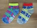Kids socks クルー スマイルロゴ 通学通園に最適 baja smile(ソックス)