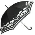 【サファリプリント】婦人雨傘★60cmジャンプ傘★♪