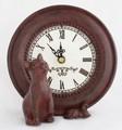 【インテリア・時計】大好きアニマル  キャット&マウス CLOCK +ネコ ギフトにぴったり♪