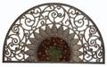 【インテリア・マット】シックな色使いのヒマワリのマット MAT Bronze ソレイユ