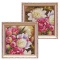 ミニ ゲル アートフレーム【低単価アート】花、フラワー柄<樹脂フレーム>