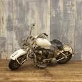 """ヴィンテージカー[Old バイク""""WHITE""""]"""