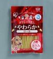 【ペットフード おやつ ガム 犬】デリシャスガムやわらかささみ味