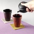 [木製品の特価商品]積み重ねて収納できます!■【木製品/軽量湯呑】スタッキングカップ