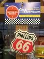 レーシングエアフレッシュナー【PHILLIPS66】RAF021