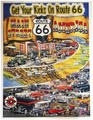 Route 66 ポスター / Get Your Kicks On Route66