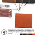 【レザー】【日本製】薄型2つ折り財布
