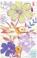 MOLLY&REX ラージボタンノートパッド <鳥>