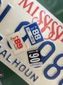 ≪アメリカ直輸入!≫Vintage Plate Year Sticker / ナンバープレート カスタムステッカー