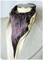 【フォーマル】エレガント袋縫いメンズ用100%シルクスカーフ 1035