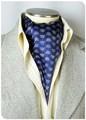 【フォーマル】エレガント袋縫いメンズ用100%シルクスカーフ 1011