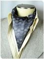 【フォーマル】エレガント袋縫いメンズ用100%シルクスカーフ 1013