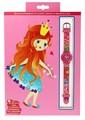 【入園・入学祝ギフトに☆子供用腕時計】ザップ 女王★3歳〜11歳ぐらいまで