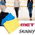 【激安!】◆お買い得春夏商材◆MET メット  カラーパンツ SKINNY<K-FIT><ラスト3点>