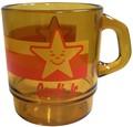 アドバタイジングクリアマグカップ(am-08:Carl's jr.)