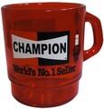 アドバタイジングクリアマグカップ(am-02:CHAMPION)