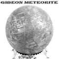 天然石 隕石ナミビア産メテオライトギベオン鉄隕石丸玉約35.6mm【FOREST 天然石 パワーストーン】