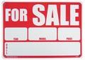 ☆PLASTIC SIGN BOARD(CA-09:売ります) / プラスチックサインボード