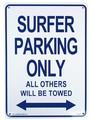 PLASTIC SIGN BOARD(CA-33:サーファー専用駐車場) / プラスチックサインボード