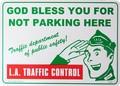 PLASTIC SIGN BOARD(CA-49:交通規制)  / プラスチックサインボード