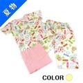 【SALE】☆お絵かきペイント柄ボタン付パジャマ☆【百】【女の子用】【肌着】