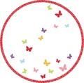 ペーパーコースター 蝶が舞う
