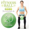 おうちでフィットネスボール 20cm<エクササイズ バランスボール><Fitness ball>