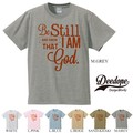 "【DEEDOPE】""BE STILL I AM GOD"" 半袖 プリント Tシャツ カットソー"