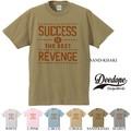 "【DEEDOPE】""SUCCESS IS THE BEST REVENGE"" 半袖 プリント Tシャツ リベンジ"